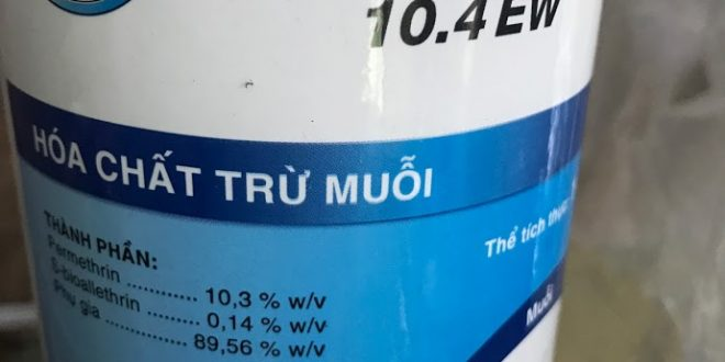 Thuốc diệt muỗi Aqua Resigen 10.4EW Bayer Thái Lan