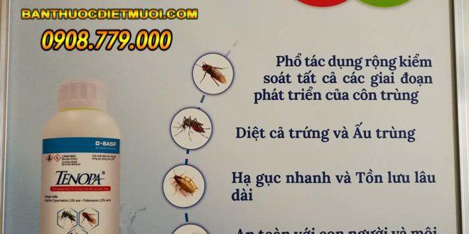 Thuốc Tenopa diệt muỗi và côn trùng